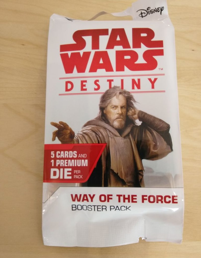 FFG - Star Wars Destiny FFG - Star Wars: Destiny - Way of the Force Booster - EN