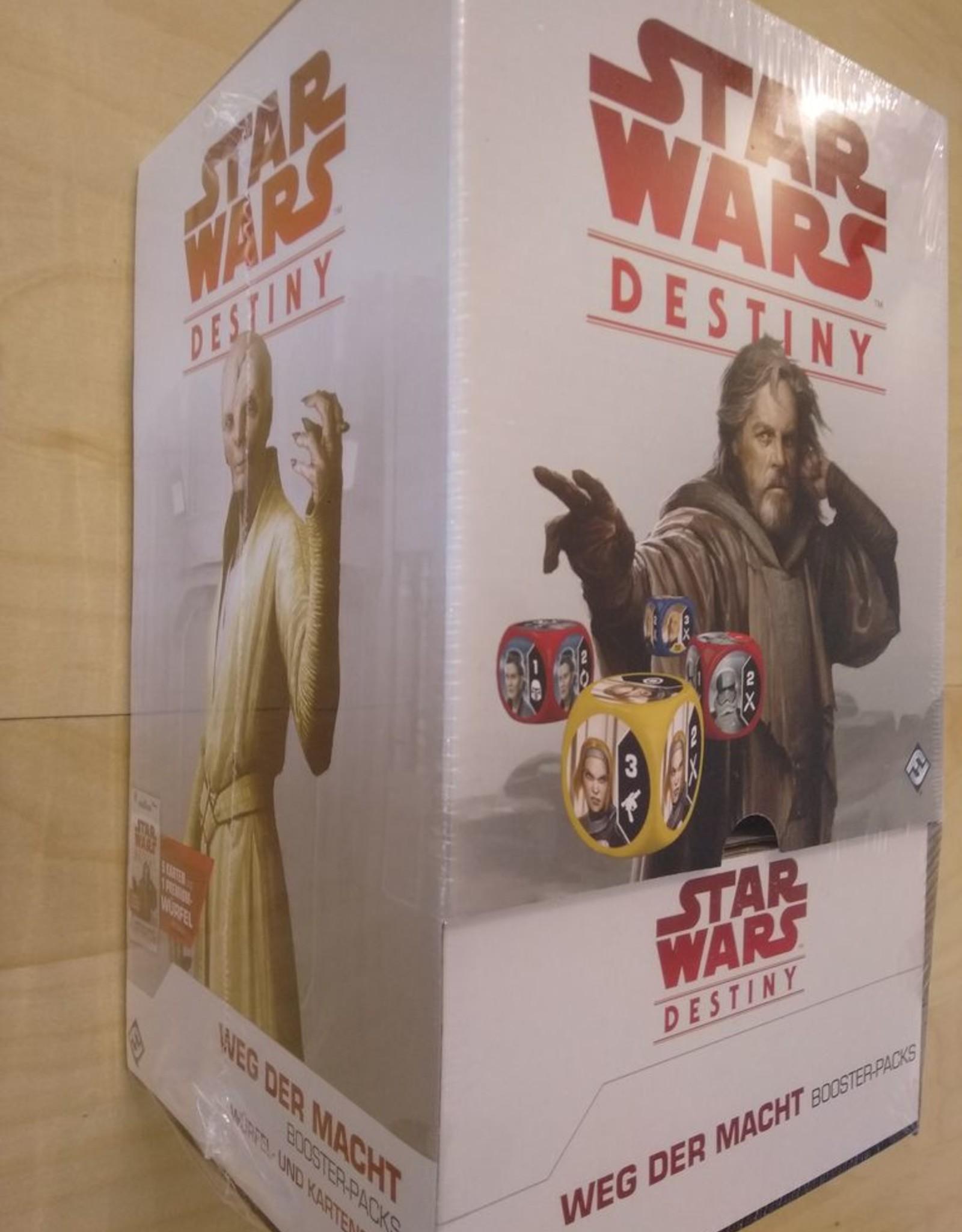 FFG - Star Wars Destiny FFG - Star Wars: Destiny - Weg der Macht Booster Display (36 Boosters) - DE