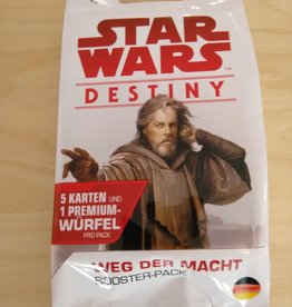 FFG - Star Wars Destiny FFG - Star Wars: Destiny - Weg der Macht Booster - DE