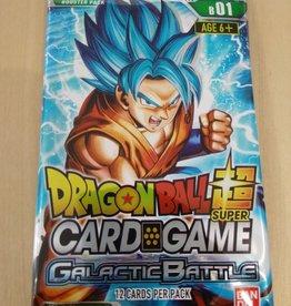 DBS - Dragon Ball Super DragonBall Super Card Game Galactic Battle Booster - EN