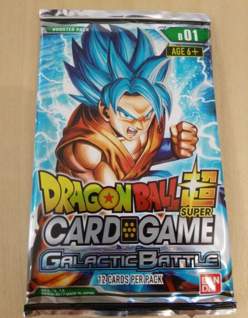 DBS - Dragon Ball Super DragonBall Super Card Game Galactic Battle Booster - EN