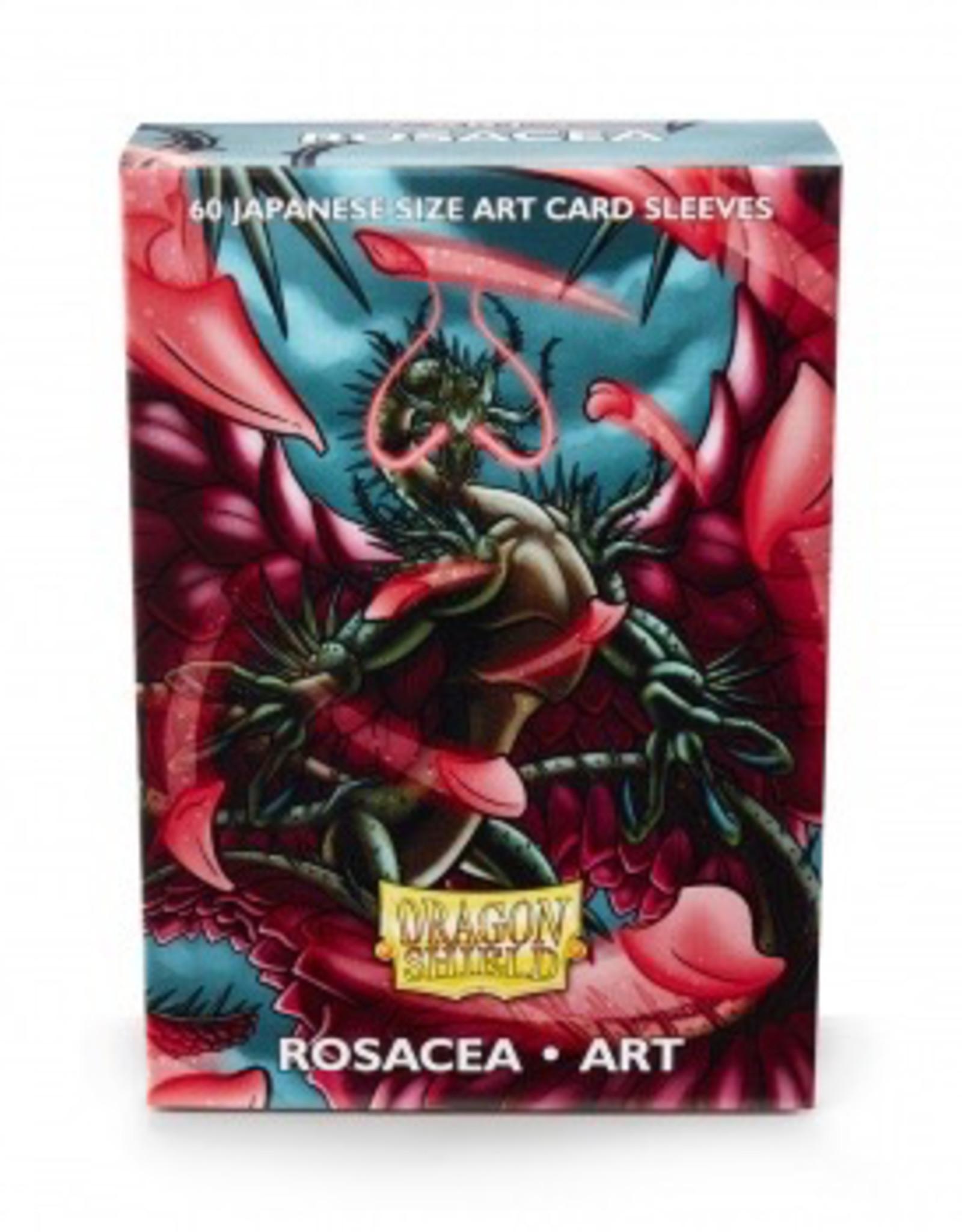 DS - Small Sleeves Dragon Shield Japanese Art Sleeves - Rosacea (60 Sleeves)