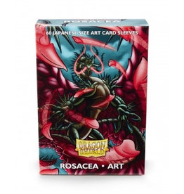 DS - Small Sleeves Dragon Shield Japanese Art Sleeves - Rosacea (60 Sleeves)