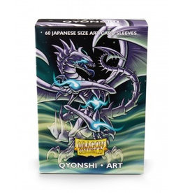 DS - Small Sleeves Dragon Shield Japanese Art Sleeves - Qyonshi (60 Sleeves)