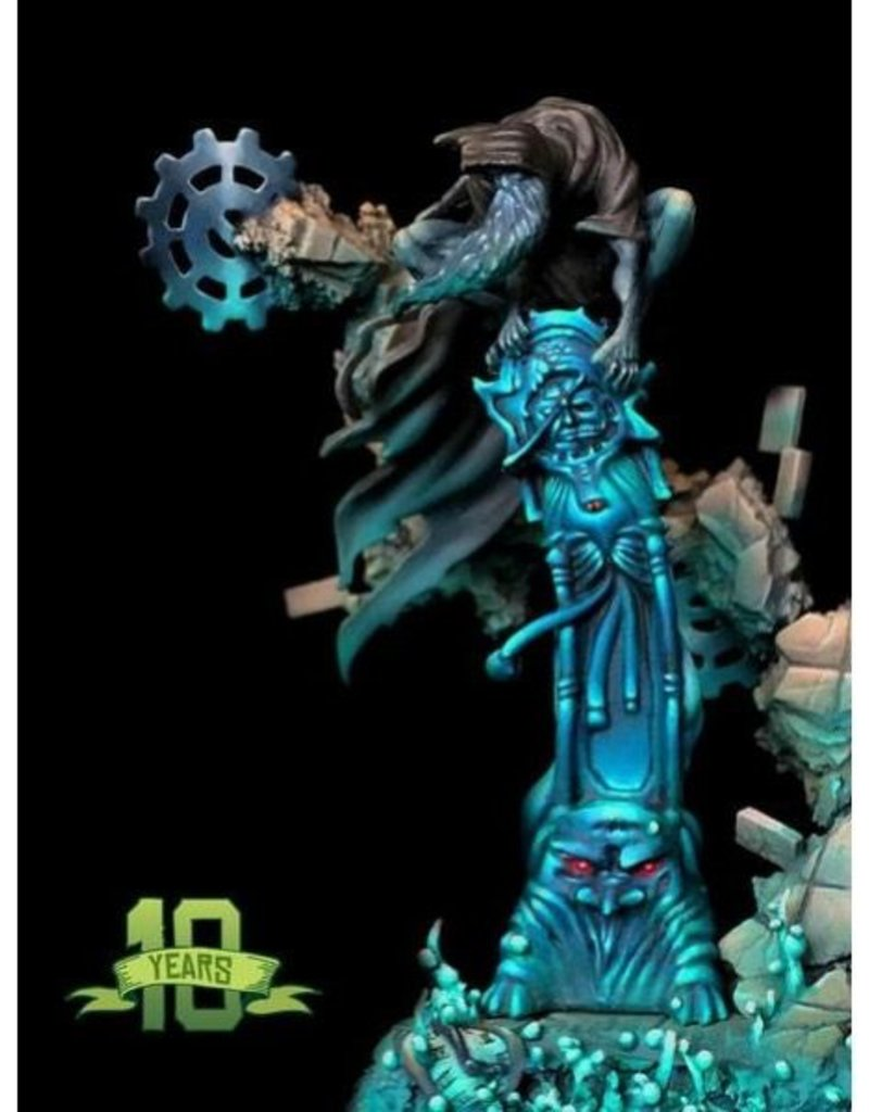 WYR - Malifaux Miniaturen Aionus (Father of Time) 10th Anniversary Figure