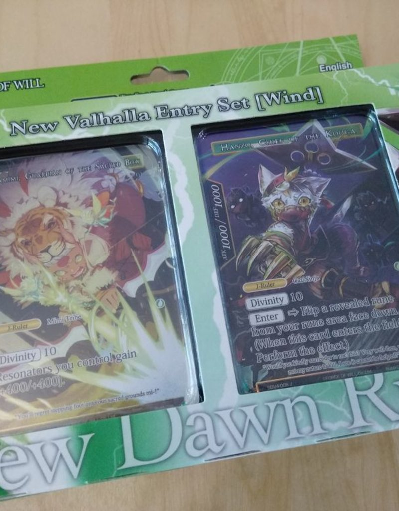 FoW - New Valhalla Cycle FoW - New Valhalla Cluster Wind Attribute Starter Deck- EN