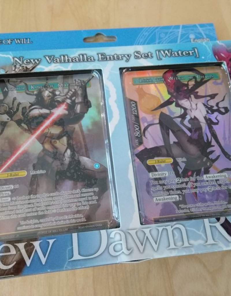FoW - New Valhalla Cycle FoW - New Valhalla Cluster Water Attribute Starter Deck - EN