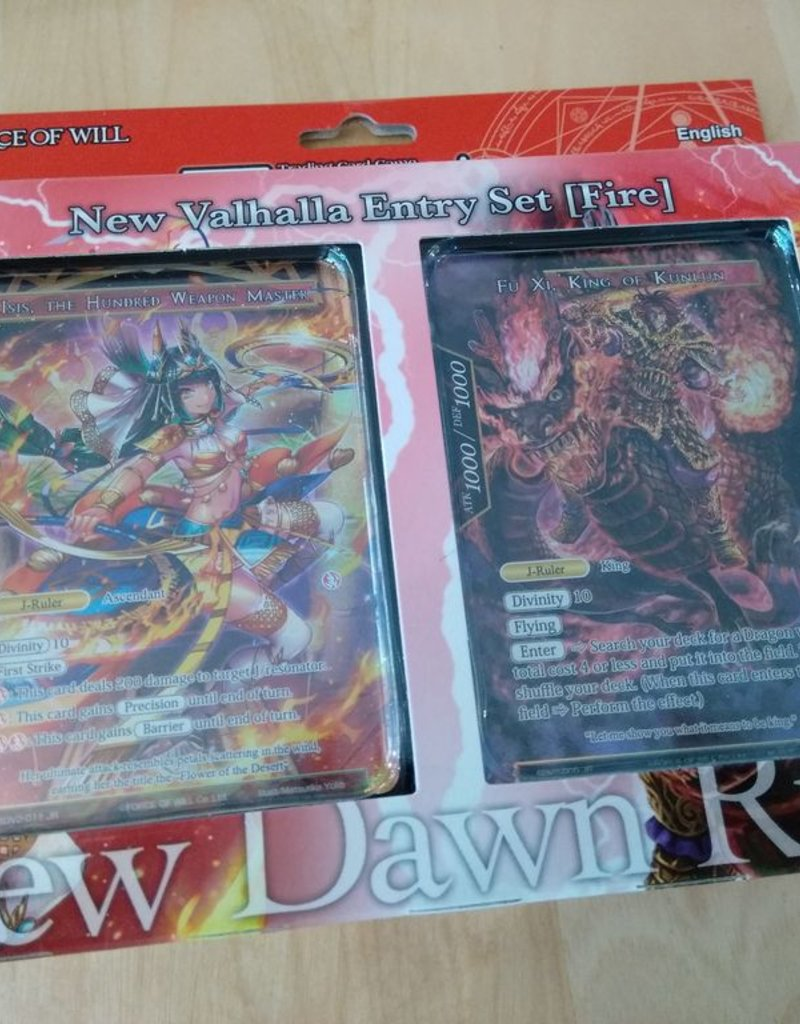 FoW - New Valhalla Cycle FoW - New Valhalla Cluster Fire Attribute Starter Deck - EN