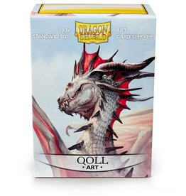 DS - Standard Sleeves Dragon Shield Standard Art Sleeves - Qoll (100 Sleeves)