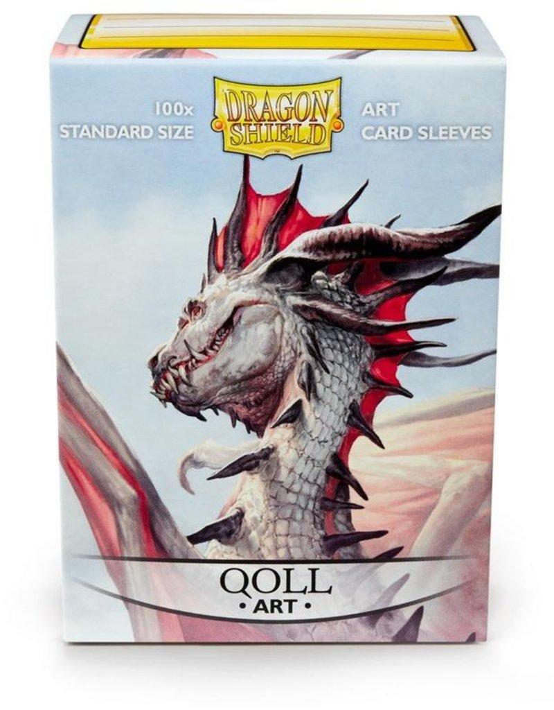 DS - Standard Sleeves Dragon Shield Standard Art Sleeves - Qoll (100 Sleeves)