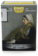 DS - Standard Sleeves Dragon Shield Standard Art Sleeves - Whistler's Mother (100 Sleeves)