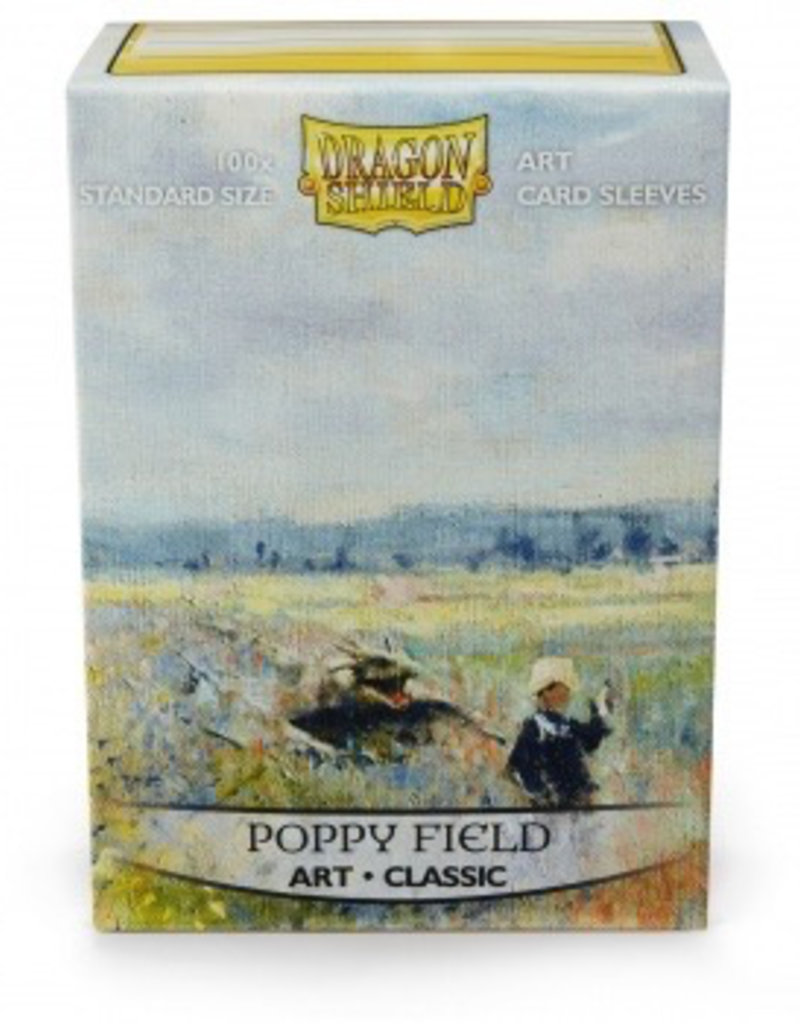 DS - Standard Sleeves Dragon Shield Standard Art Sleeves - Poppy Field (100 Sleeves)
