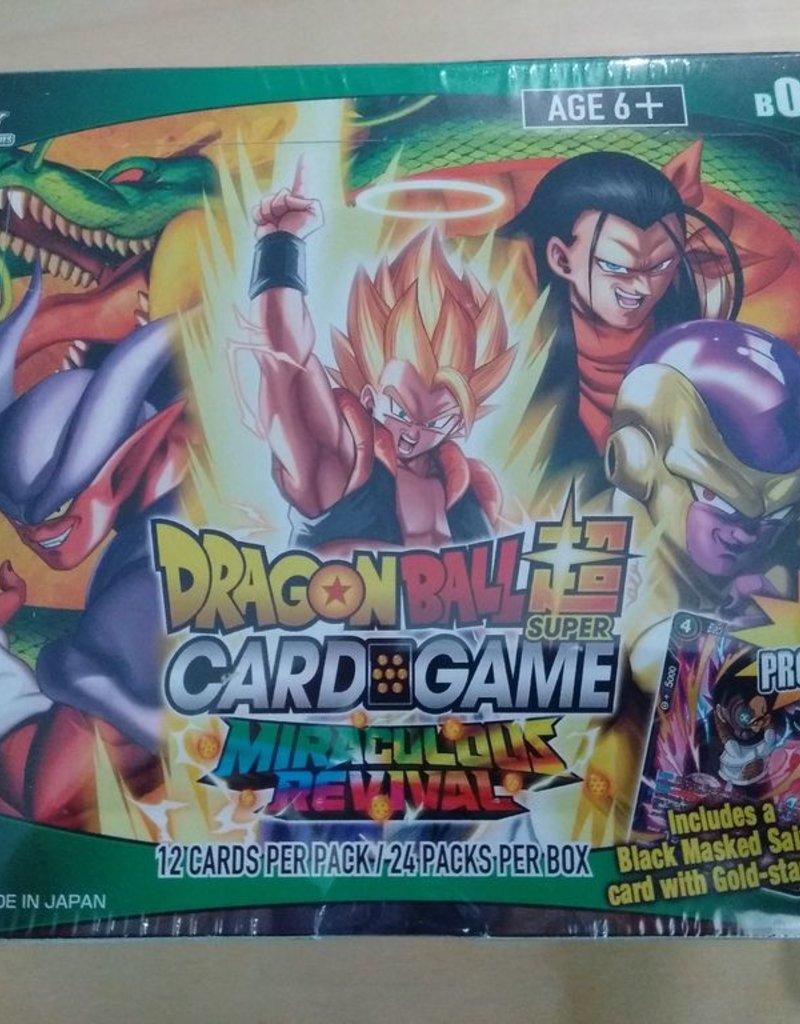 DBS - Dragon Ball Super DragonBall Super Card Game - Booster Display 5 Miraculous Revival (24 Packs) - EN