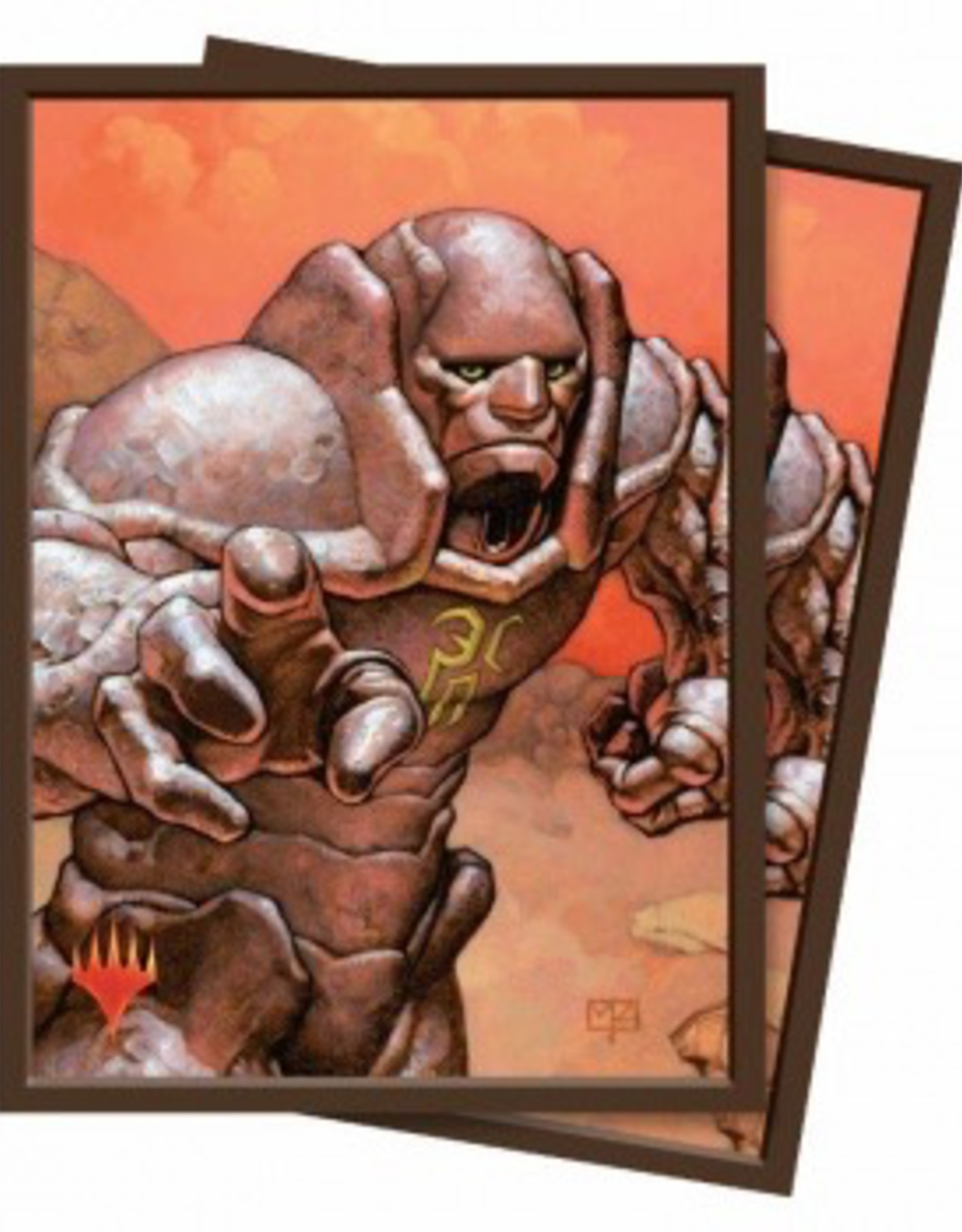 UP - Standard Sleeves UP - Standard Deck Protector - Magic the Gathering Karn, Silver Golem (100 Sleeves)