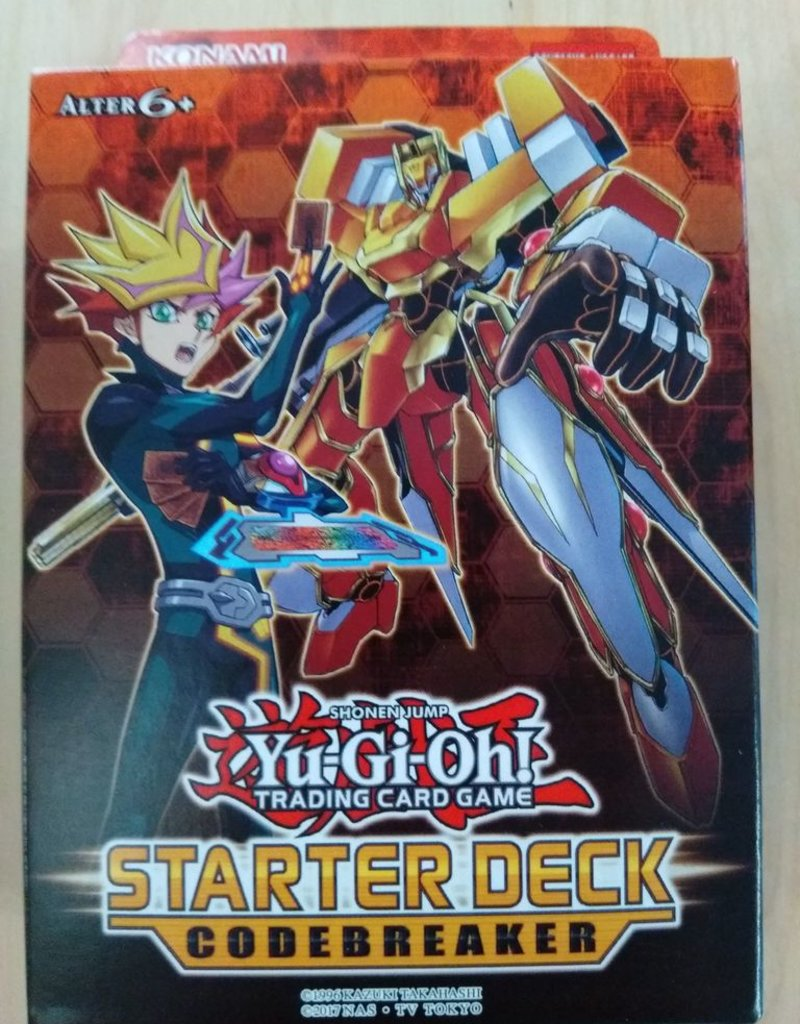 YGO - Starter Deck Yuma YGO - Starter Deck 2018: Codebreaker - DE