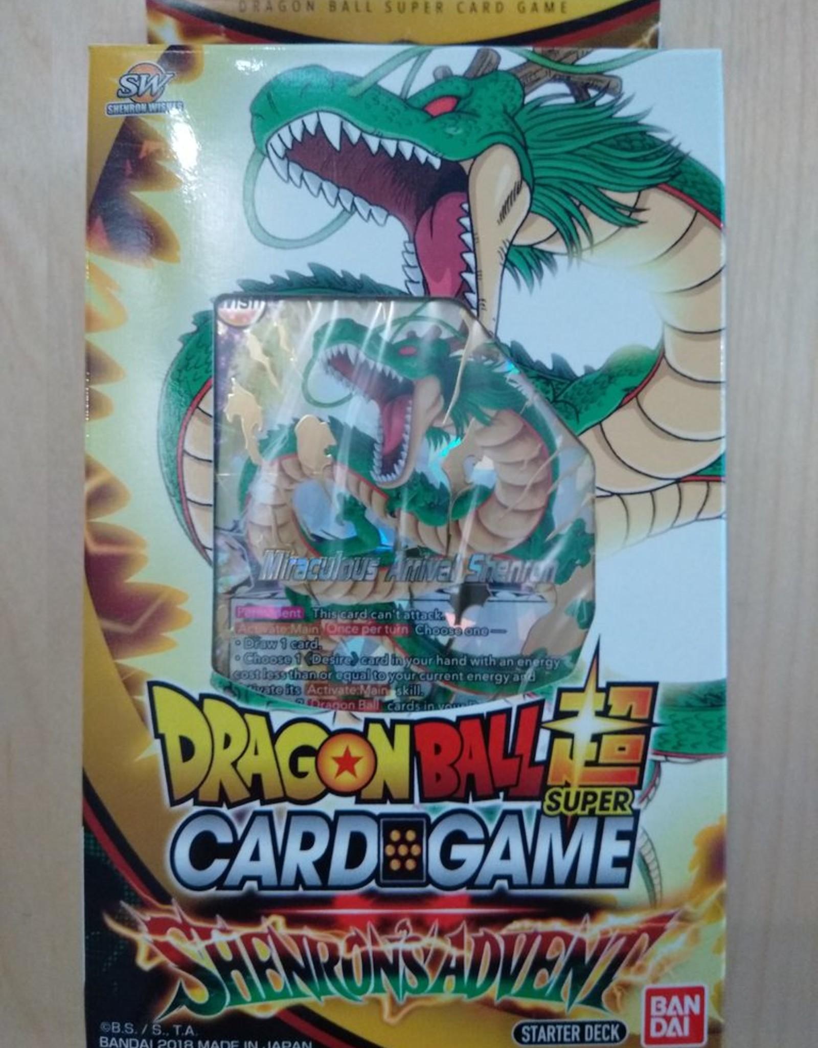 DBS - Dragon Ball Super DragonBall Super Card Game - Starter Deck 7, Shenron's Advent - EN