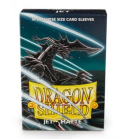 DS - Small Sleeves Dragon Shield Small Sleeves - Japanese Matte Jet (60 Sleeves)
