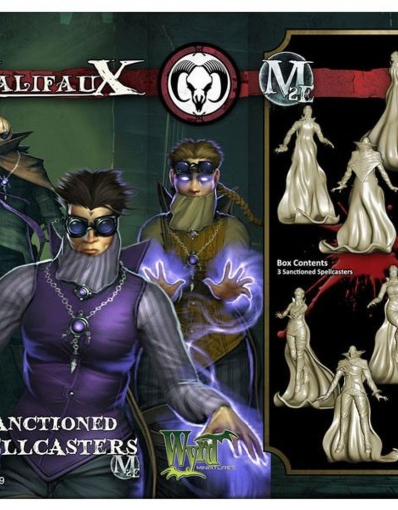 WYR - Malifaux Miniaturen Sanctioned Spellcaster x3