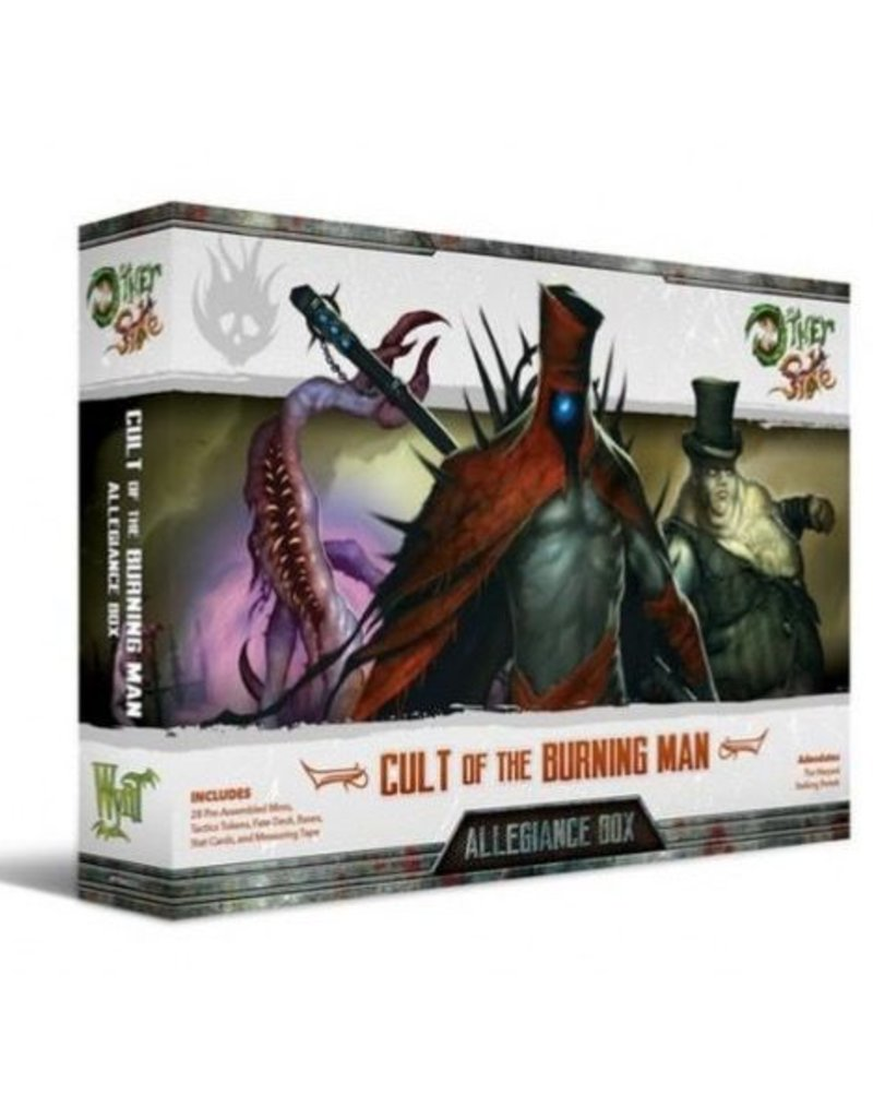 WYR - The Other Side Cult of the Burning Man Allegiance Box - Adeodatos