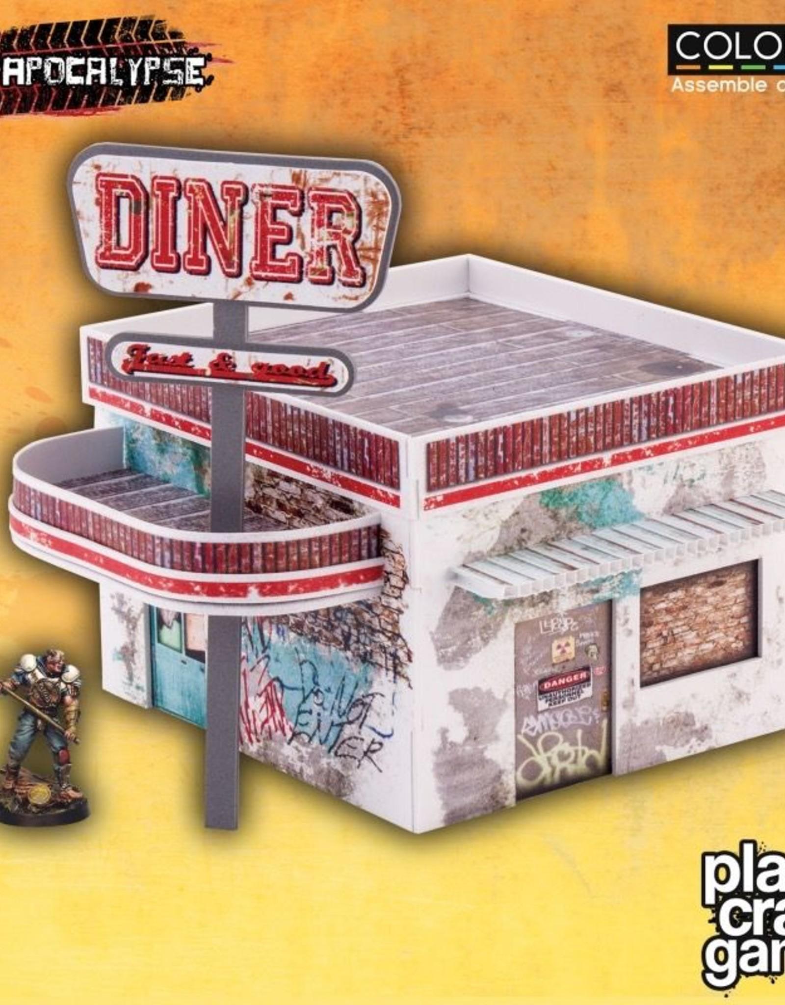 PCG - Scenery Plast Craft Games: Diner (pre-painted)