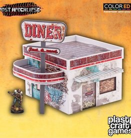 PCG - Scenery Plast Craft Games: Diner (pre-painted)