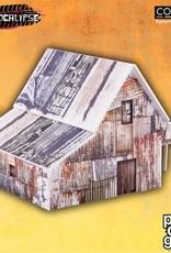 PCG - Scenery Old Barn (pre-painted)
