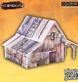 PCG - Scenery Old Barn (pre-painted)