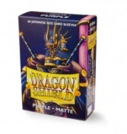 DS - Small Sleeves Dragon Shield Small Sleeves - Japanese Matte Purple (60 Sleeves)