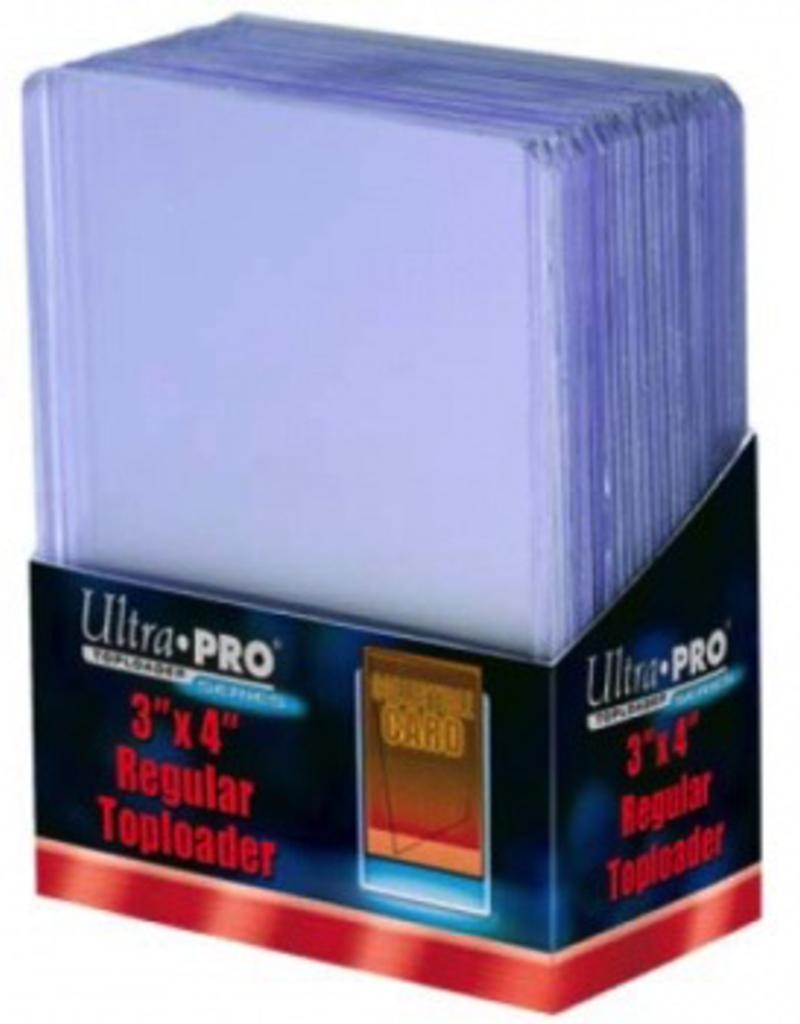 "UP - Spezial UP - Toploader - 3"" x 4"" Clear Regular (25 pieces)"