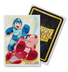DS - Standard Sleeves Dragon Shield Classic Art Sleeves - Mega Man & Rushd (100 Sleeves)
