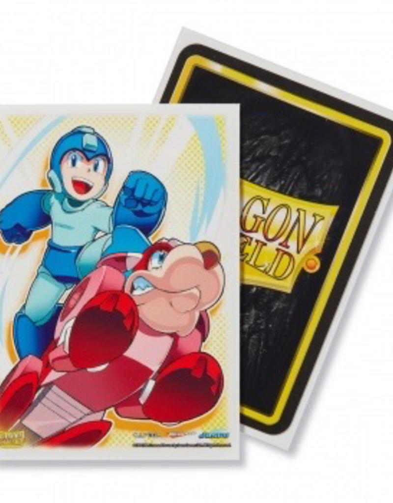 DS - Standard Sleeves Dragon Shield Classic Art Sleeves - Mega Man & Rushd (100 Sleeves)