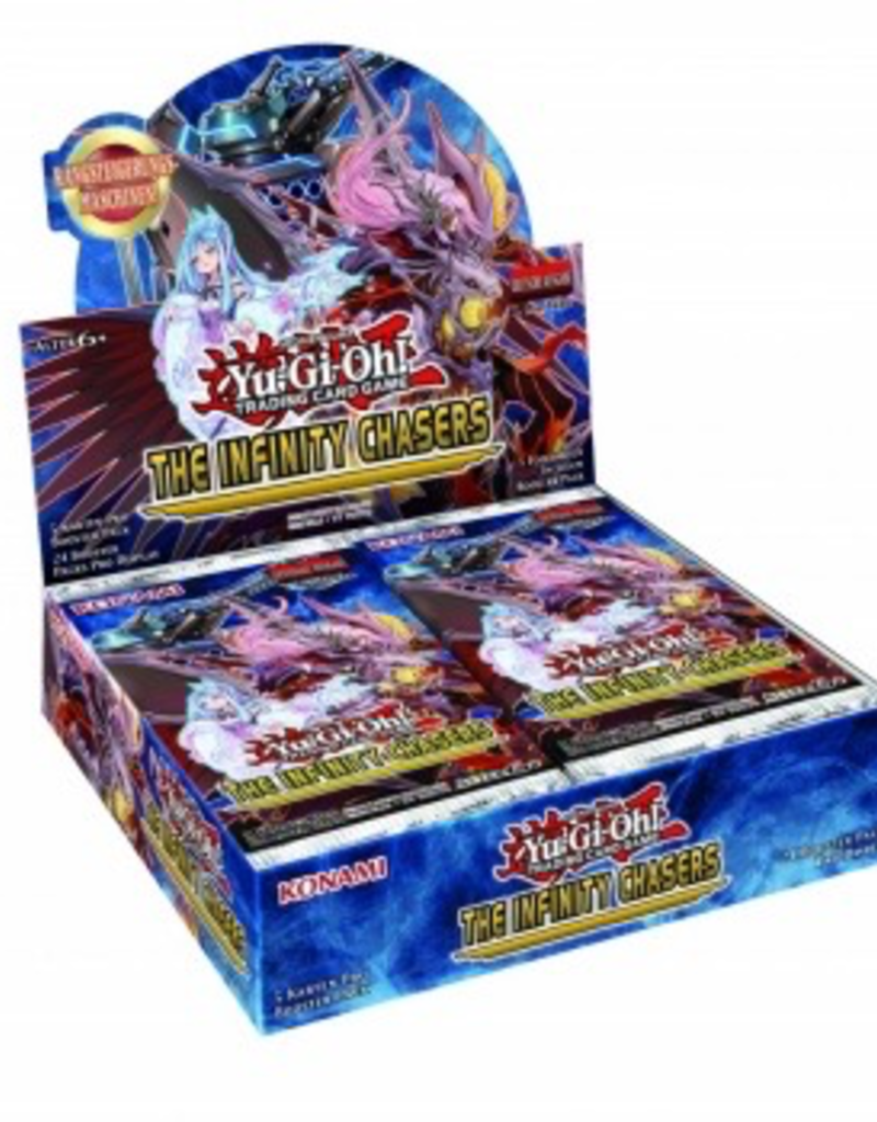 YGO - Zwischenset YGO - The Infinity Chasers - Booster Display (24 Packs) - DE