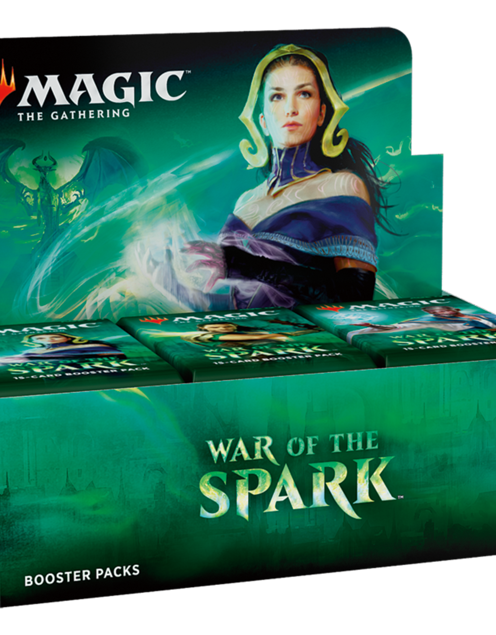 MTG - Ravnica MTG - War of the Spark Booster Display (36 Packs) - DE