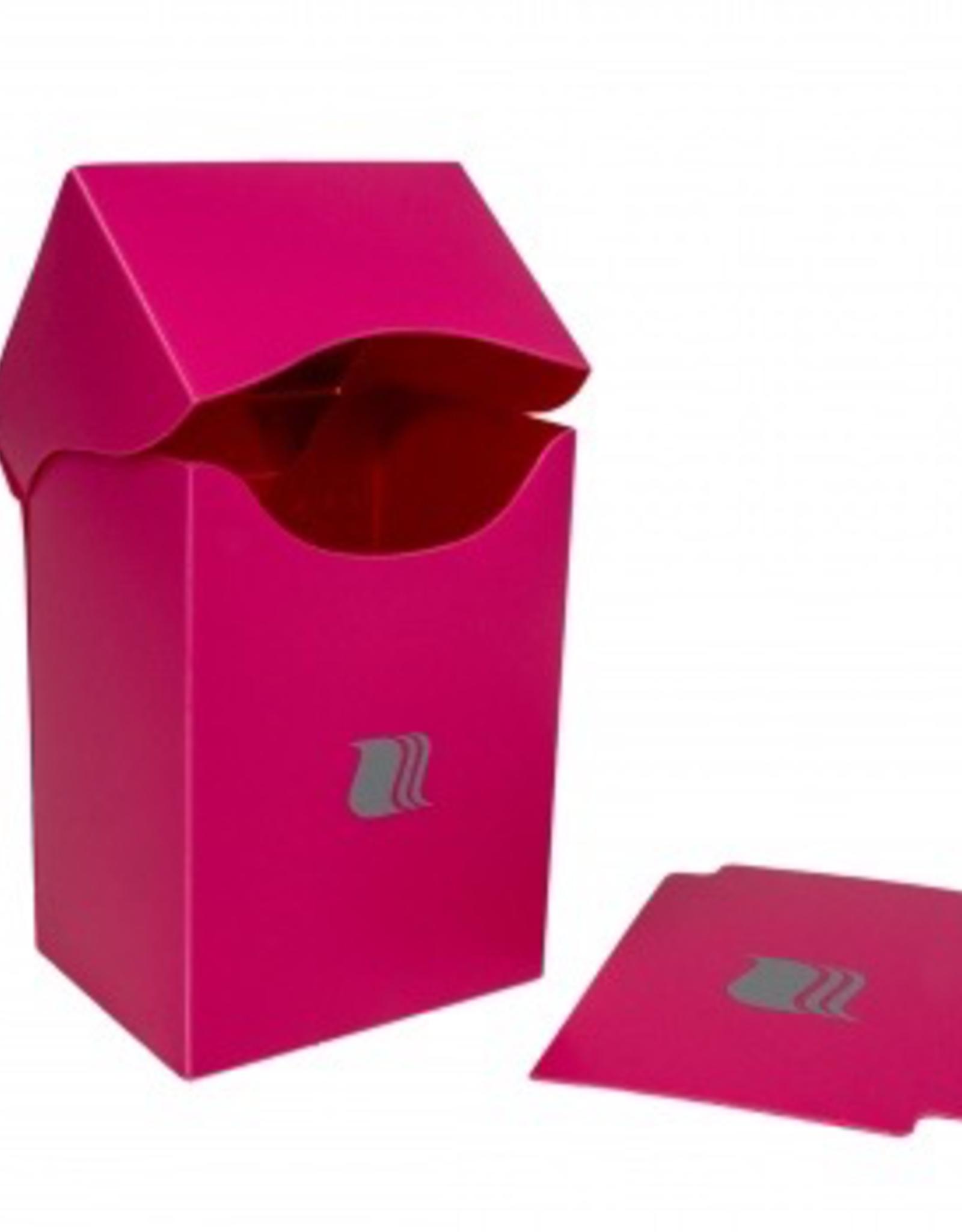 BF - Zubehör Blackfire Deck Holder Vertical - for 80+ Cards - Pink
