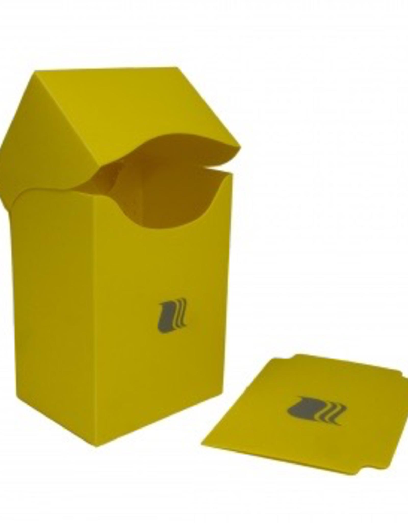 BF - Zubehör Blackfire Deck Holder Vertical - for 80+ Cards - Yellow