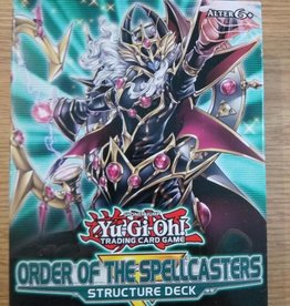 YGO - Structure Deck YGO - Structure Deck Display - Order of the Spellcasters - DE