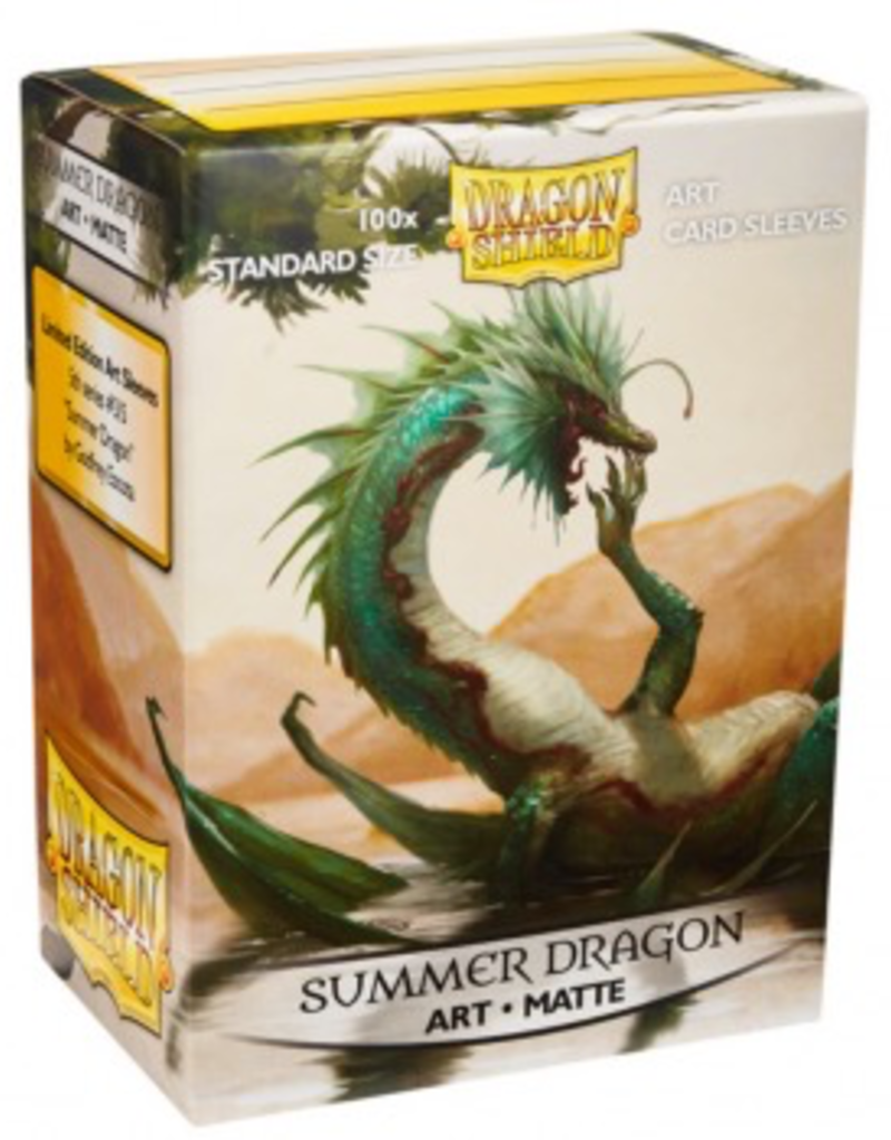 DS - Standard Sleeves Dragon Shield Matte Art Sleeves - Summer Dragon (100 Sleeves)