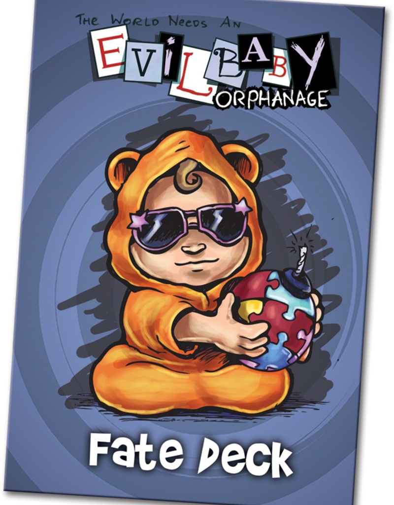 WYR - Malifaux Zubehör Evil Baby Orphanage: Fate Deck