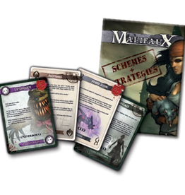 WYR - Malifaux Zubehör Schemes and Strategies Deck
