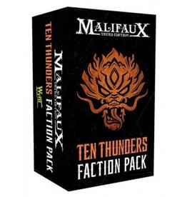 WYR - Malifaux Zubehör Malifaux 3rd Edition - Ten Thunders Faction Pack - EN