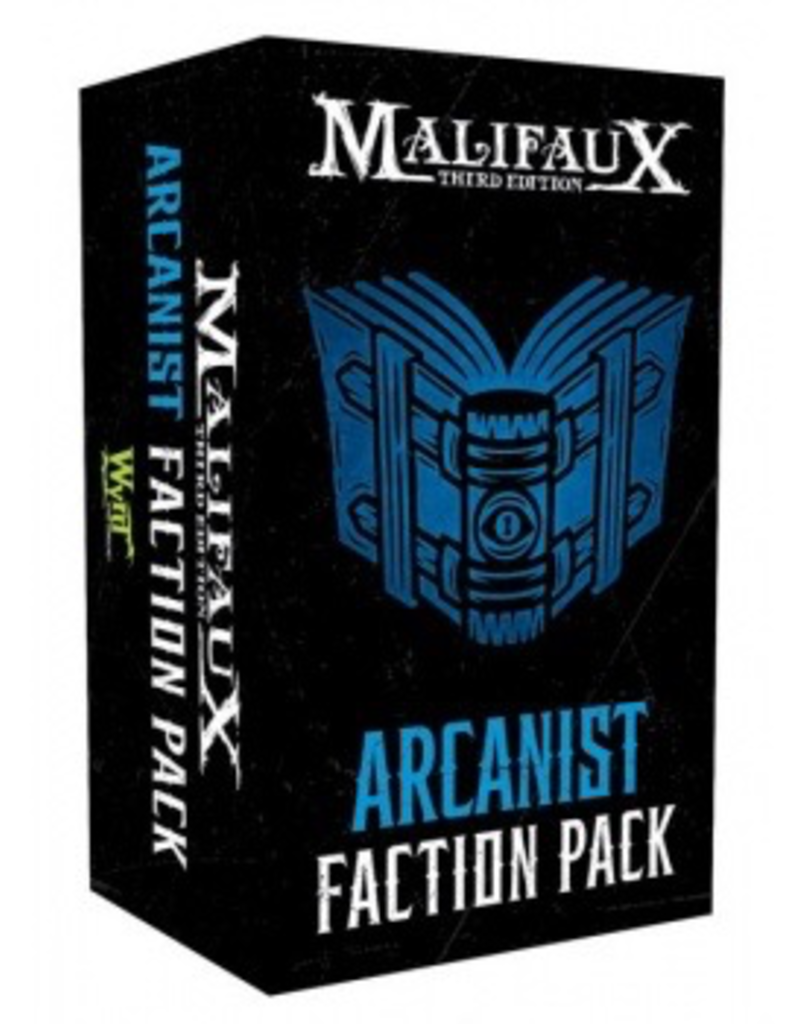WYR - Malifaux Zubehör Malifaux 3rd Edition - Arcanist Faction Pack - EN