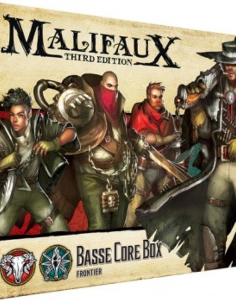 WYR - Malifaux Miniaturen Malifaux 3rd Edition - Basse Core Box - EN
