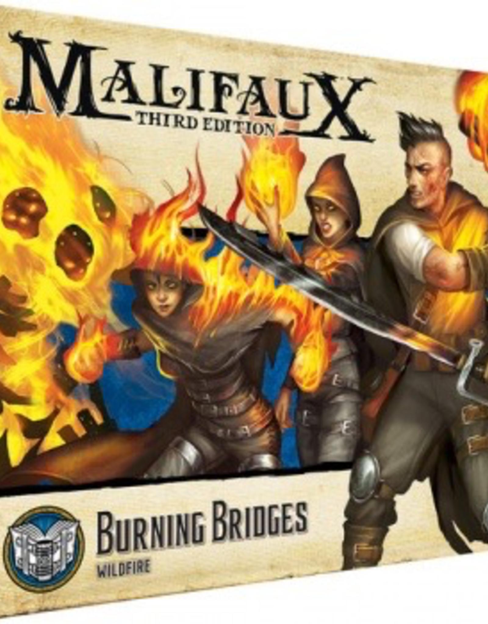 WYR - Malifaux Miniaturen Malifaux 3rd Edition - Burning Bridges - EN