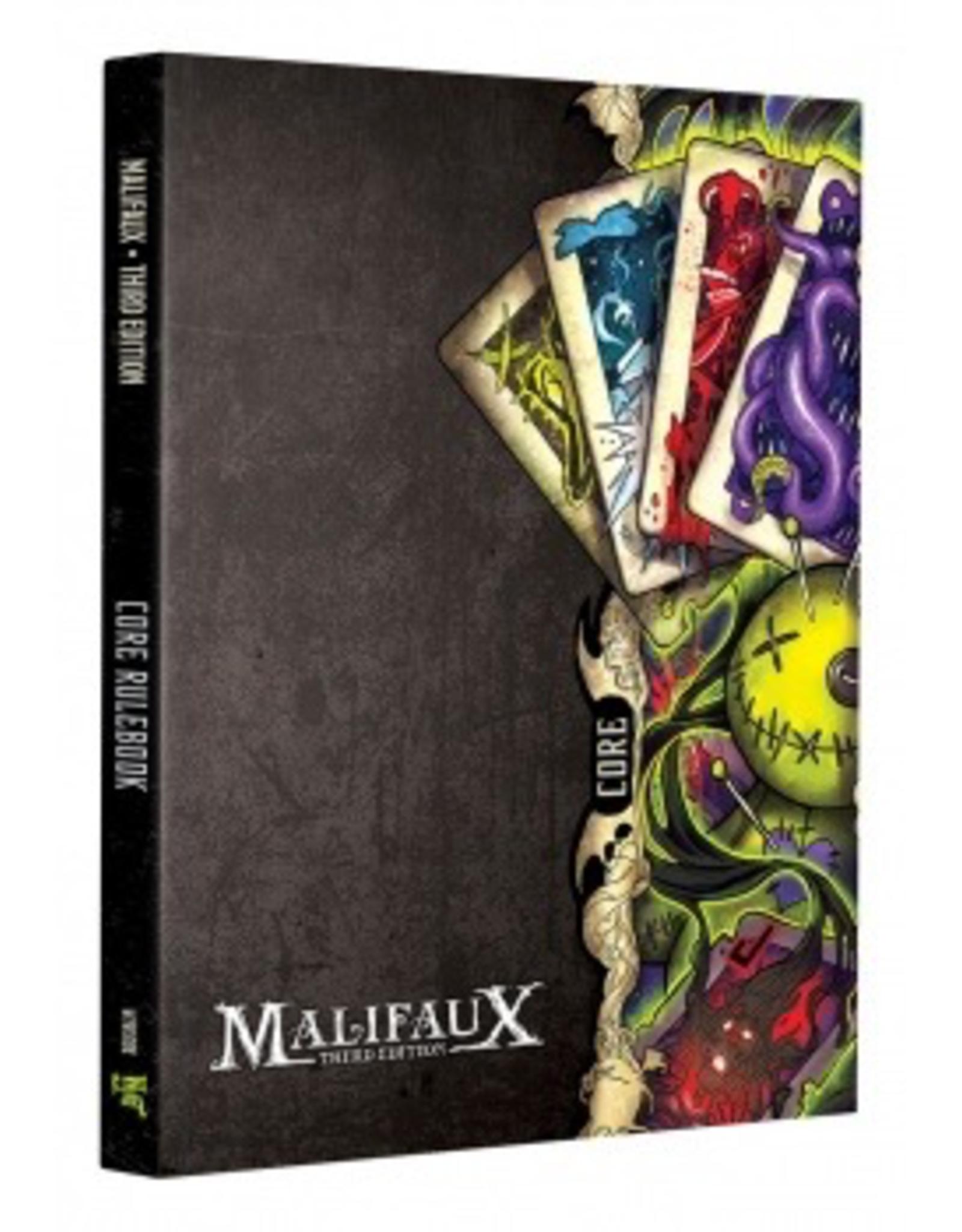 WYR - Malifaux Zubehör Malifaux 3rd Edition - Core Rulebook - EN
