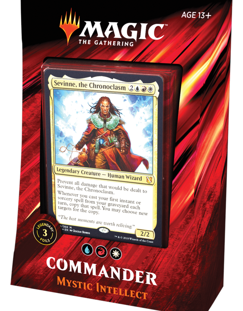 MTG - Commander MTG - Commander 2019 Deck Mystic Intellect - EN
