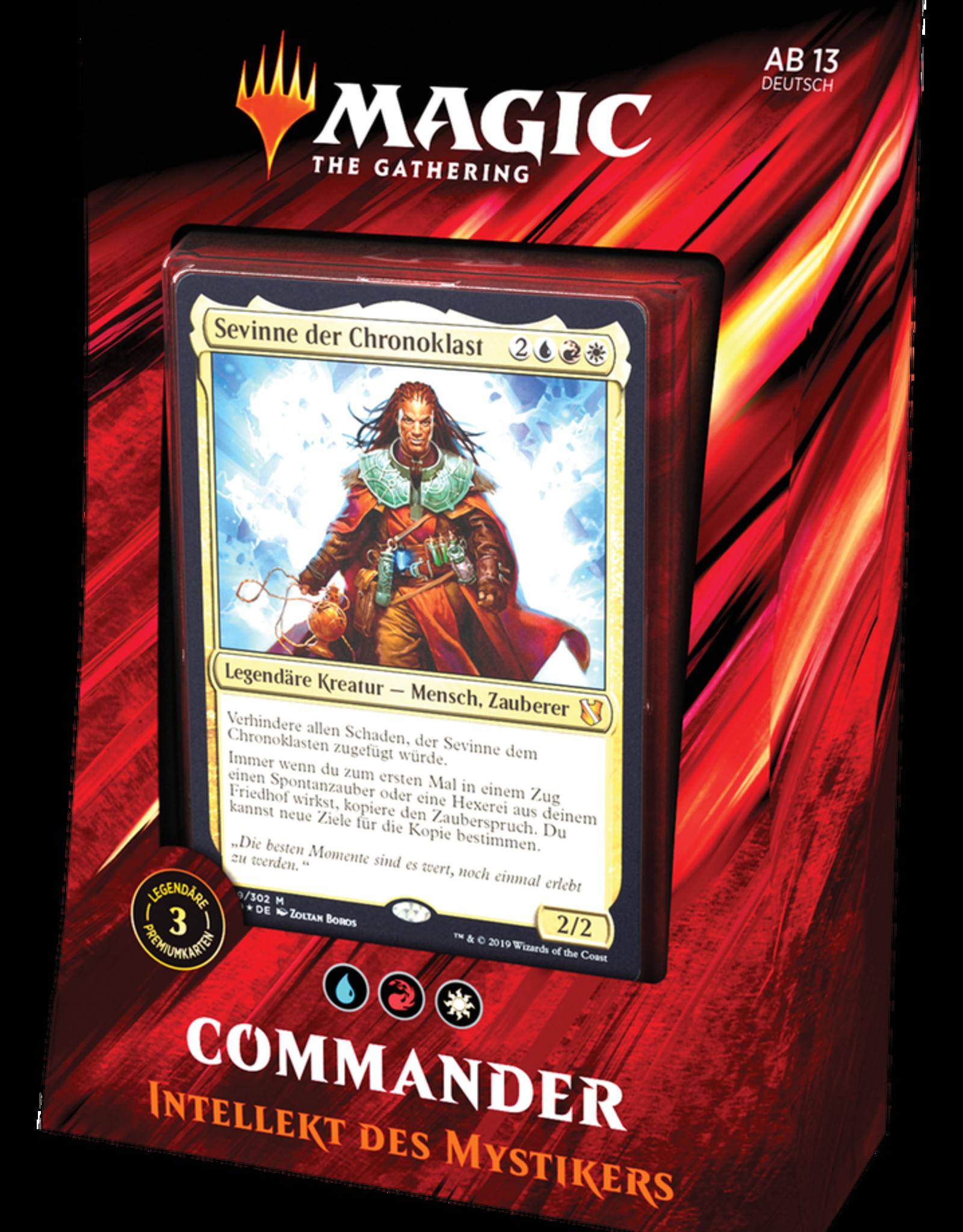 MTG - Commander MTG - Commander 2019 Deck Intellekt des Mystikers - DE