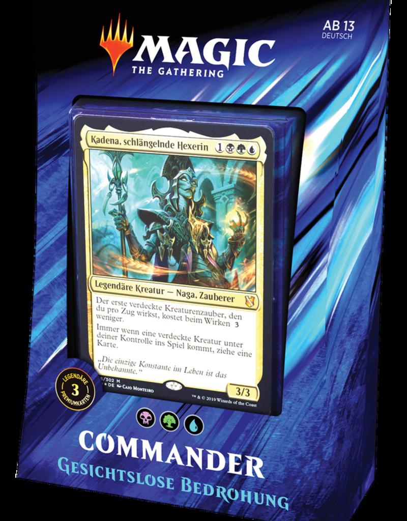 MTG - Commander MTG - Commander 2019 Deck Gesichtslose Bedrohung - DE