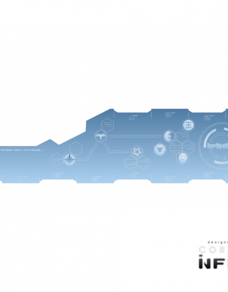 MicroArt - Zubehör Infinity Range Card INCH Blue (1)