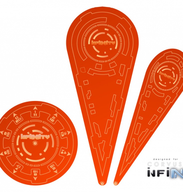 "MicroArt - Zubehör Infinity Templates ""Orange"" (3)"