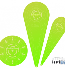 "MicroArt - Zubehör Infinity Templates ""Green"" (3)"